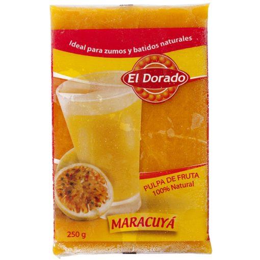Pulpa de maracuyá El Dorado