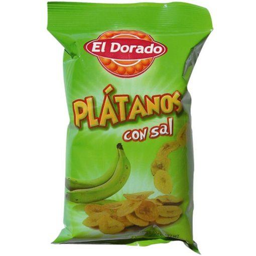 Platanitos con sal El Dorado