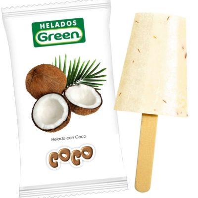 Helado Coco Green