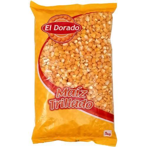Maiz Amarillo Trillado El Dorado