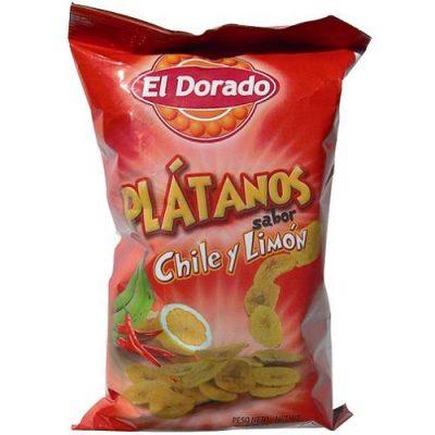 Platanito chile y limon El Dorado