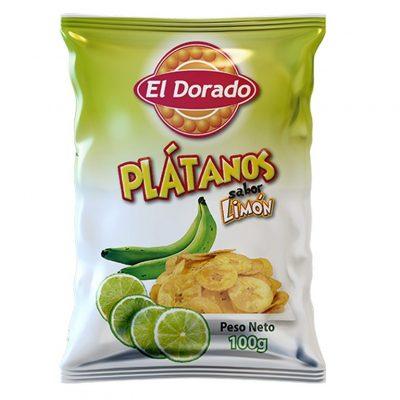 Platanitos con Limón El Dorado