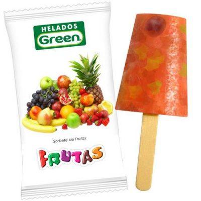Helado Frutas Green
