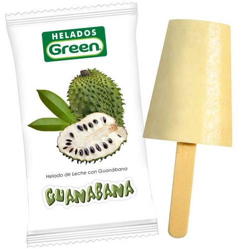 Helado Guanabana Green