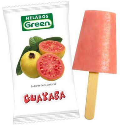 Helado Green Guayaba