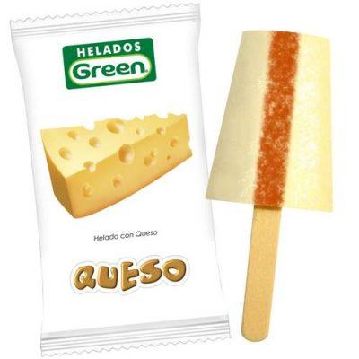 Helado Green Queso