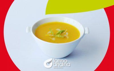 ¿Sopa de papaya? Sí, deliciosa