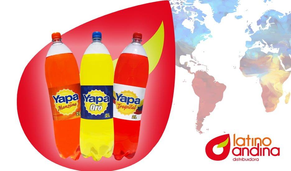 Yapa: bebidas refrescantes con el sabor de siempre