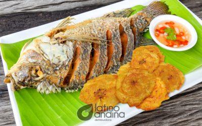 Tilapia frita, un plato nutritivo y de buen precio
