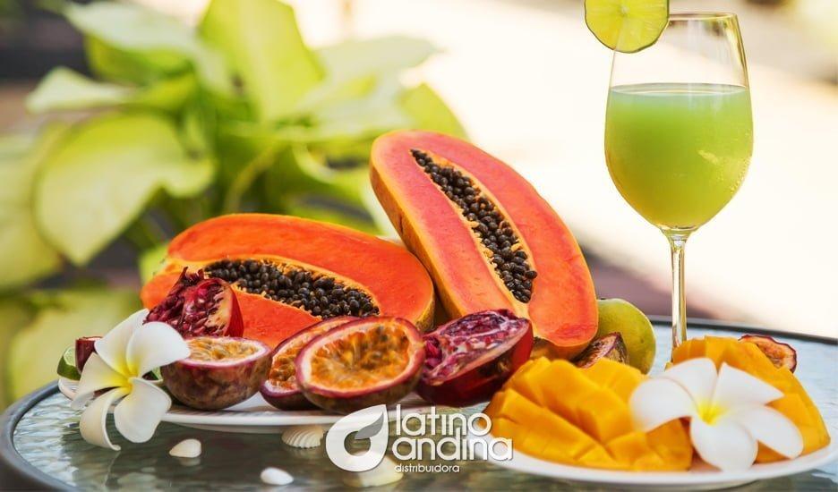 Pulpas y frutas tropicales congeladas para alegrar el paladar y cuidar la salud