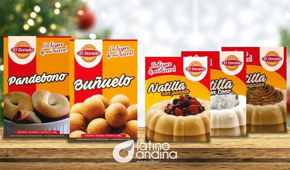Pandebonos, natillas y buñuelos El Dorado, nuestro regalo navideño