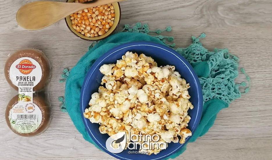 Endulza tus días con palomitas de maíz con panela