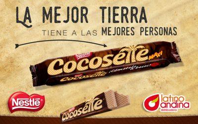 Distribuimos en España  Cocosette, las famosas galletas wafer de coco