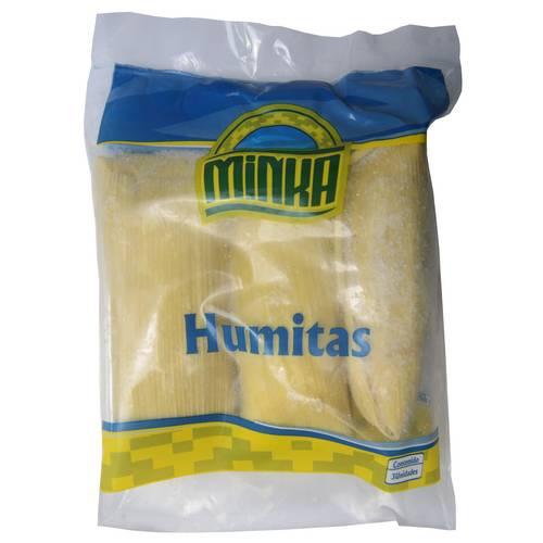 Humitas congeladas Minka