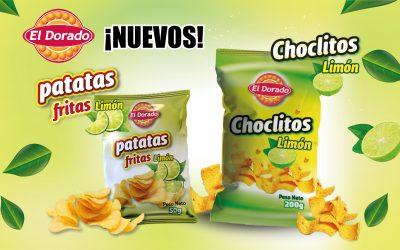 ¡Nuevos Choclitos y Patatas con Limón El Dorado!